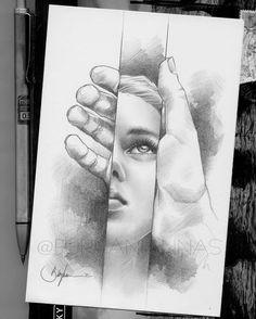 Beautiful Pencil Drawings, Pencil Drawing Images, Abstract Pencil Drawings, Dark Art Drawings, Realistic Drawings, Beautiful Sketches, Pencil Sketch Art, Joker Pencil Drawing, Hard Drawings