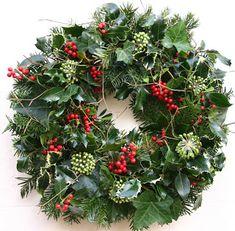 Christmas Door Wreaths in Brighton Christmas Door Wreaths, Holiday Wreaths, Christmas Crafts, Christmas Decorations, Christmas Ornaments, Christmas Makes, Rustic Christmas, Diy Fall Wreath, Christmas Arrangements