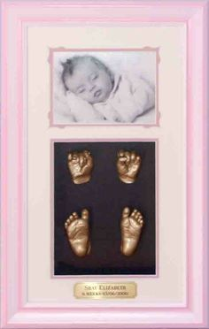 3D Impressions of New Born full set of hands and feet + photo www.fmni.com.au https://www.facebook.com/pages/Forget-Me-Not-Impressions/105458717541?ref=hl