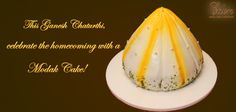 Dale's Eden ~ This Ganesh Chaturthi, celebrate the homecoming with a Modak Cake! http://daleseden.com/UserPages/ProductDetails.aspx?id=MK+001