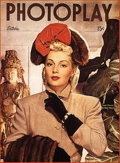 lovely 1940s cover  LANA TURNER