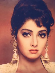Sridevi: The best comeback of ALL time in Bollywood; Indian Celebrities, Bollywood Celebrities, Bollywood Actress, Most Beautiful Indian Actress, Beautiful Actresses, Beautiful Heroine, Vintage Bollywood, Bollywood Stars, Indian Beauty