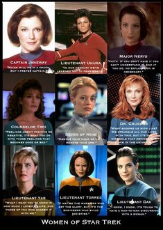 The women of Star Trek are not mere sex objects archetypes for a romantic plot l. - The women of Star Trek are not mere sex objects archetypes for a romantic plot line or foils for th - Star Trek Voyager, Star Trek Enterprise, Star Trek 2009, Star Trek Beyond, Star Trek Online, Star Trek Original, Star Citizen, Battlestar Galactica, Spock
