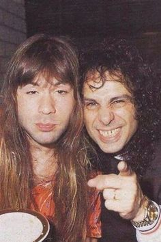 Bruce and Ronnie! Dio and Iron Maiden