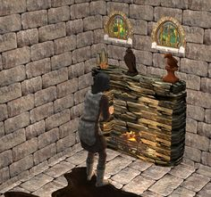 Image Sims 2, Middle Ages, Hearth, Plumbing, Appliances, Stone, Stuff To Buy, Image, Log Burner