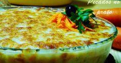 Bacalhau espiritual, uma receita deliciosa que me faz lembrar um pouco o sabor do bacalhau com natas.