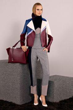 Fendi Pre-Fall 2014 Fashion Show - Elisabeth Erm Fall Winter 2014, Autumn Winter Fashion, Fall 14, Fendi, Viernes Casual, 2014 Trends, Fashion Show, Fashion Design, Fashion 2014