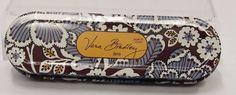 Vera Bradley 2010 State Blooms Floral Pencil Jewelry Travel 3 Piece Tin SB0326 #VeraBradley