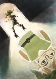 A Link Between Worlds (fan art)