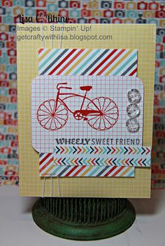 Get Crafty with Lisa:  Wheely Sweet