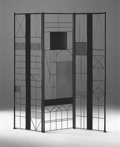 Room divider produced by De Padova - Bruno Munari
