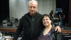 Mike Nesmith and my FB friend Christine, November 2013