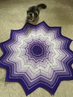 PLEASE feel free to donate and sell finished items using this pattern, or to teach classes using it. Thank you all for your love and support over the years! Crochet Star Blanket, Crochet Stars, Baby Afghan Crochet, Afghan Crochet Patterns, Spiderman Blanket, Crochet Tree Skirt, Spiral Crochet, Crocheting, Knitting
