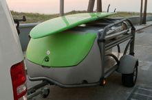 Pop-up tent trailer