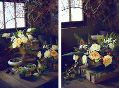 SOLABEE FLOWERS & BOTANICALS // PORTLAND, OR Winter Floral Arrangements, Portland, Bouquets, Flowers, Painting, Ideas, Art, Art Background, Bouquet