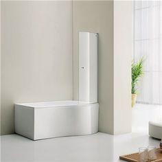 Dusjvegg Bathlife Ideal Form - Dusjdører & Vegg - Dusjer - Bygghjemme.no