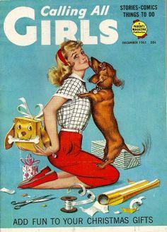 December 1961 Calling All Girls magazine.