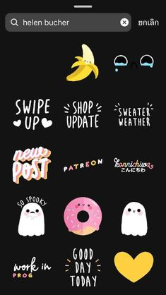 Pin on Instastories Instagram Blog, Instagram Editing Apps, Instagram Emoji, Instagram And Snapchat, Instagram Story Ideas, Instagram Quotes, Bg Design, Snapchat Stickers, Creative Instagram Stories
