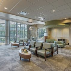 Our Health + Wellness Studio has designed more than medical facilities throughout the southeast, which serve patients every week. Holistic Wellness, Health And Wellness, Health Care, Wellness Studio, Surgery Center, Waiting Area, Soothing Colors, Atrium, Patio