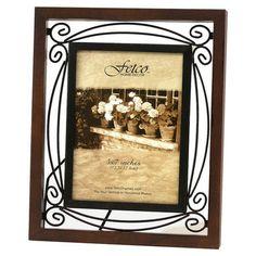 Found it at Wayfair - Tuscan Picture Frame in Walnut & Bronze