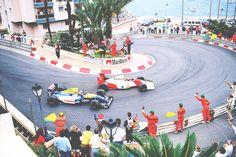 Classic battle... Senna v Mansell Monaco 1992