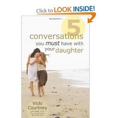 From the cradle to college, tell your daughters the truth about life before they believe the culture's lies.    For mothers with girls newborn to eighteen, Five Conversations You Must Have with Your Daughter is simply a must-have book. Youth culture commentator Vicki Courtney helps moms pinpoint and prepare the discussions that should be ongoing in their daughters' formative years.