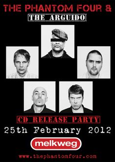 25.02.12: Melkweg (oude zaal) / Amsterdam. Release party Morgana / Sounds From The Obscure.