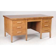 46 Oak Teacher S Desk