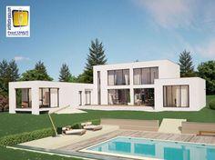 architecture maison en L - Recherche Google