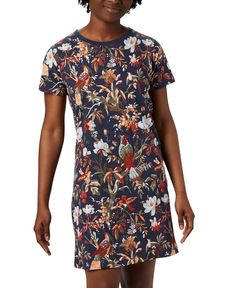 Women's Park Cotton T-Shirt Dress Pullover Designs, Casual Loafers, Review Dresses, Plus Size Women, Columbia, Designer Dresses, Nocturnal Birds, Shirt Dress, Branches