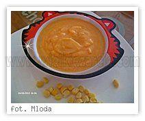 Wielkie Żarcie - Przepis - Zupa krem z kukurydzą i mięskiem po 7 miesiącu