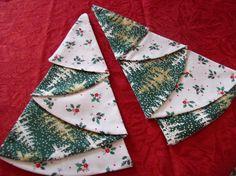 Great way to fold napkins!