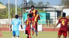 Kolkata: Former champions West Bengal and Goa will face each other in the summit clash of the 71st Santosh Trophy football tournament after their respective semifinal victories here on Thursday. While Bengal prevailed over Mizoram 6-5 via sudden death in the first semifinal, hosts Goa beat...
