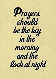Prayers..