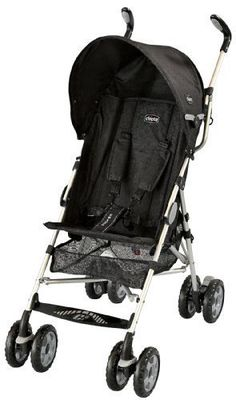 Chicco C6 Stroller, Black by Chicco
