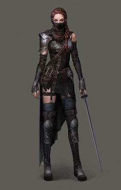 Image result for dark outlander barbarian female