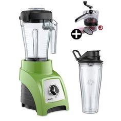Vitamix je ideálním řešením vysokorychlostního mixéru v malém provedení. Smoothie, Kitchen Appliances, Technology, Diy Kitchen Appliances, Home Appliances, Smoothies, Kitchen Gadgets