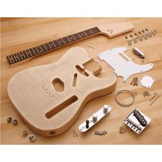 H8070 Heirloom Curly Maple Telecaster® Guitar Kit