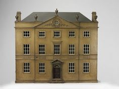 Antique Dollhouse made from wood.