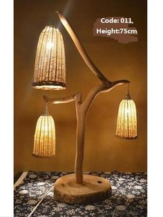 Aliexpress.com: Купить Продвижение качество новизны дерево деревья светильник бамбук абажур настольной лампы настольные лампы в помещении светильники из Надежный светильник свет поставщиков на TengFei