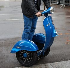 Electric Vespa Segway - Enough Said!!!