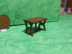 Quarter Scale Table 1/48th Scale Medieval by LaPetiteMaisonDAmour, £7.50