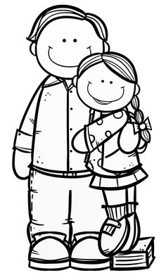 Clipart Black And White, Binder Covers, Coloring Pages, Snoopy, Clip Art, Crafty, School, Drawings, Montessori