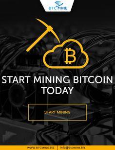 Start Bitcoin Mining at BTCMINE, Visit: www.btcmine.biz