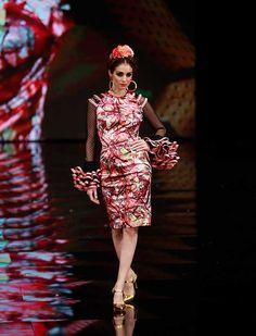 La diseñadora recurre a la inspiración mexicana para su colección de moda flamenca «Raíces» (Rocío Ruz / Raúl Doblado)