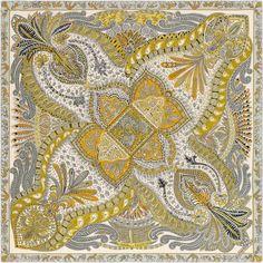 Hermes cashmere and silk shawl, hand-rolled, 55 Silk Scarves, Hermes Scarves, Hermes Online, Hermes Paris, Silk Shawl, Large Scarf, Designer Scarves, Scarf Design, Paisley Design