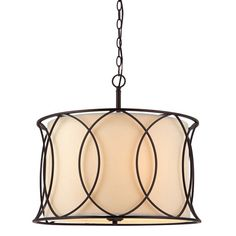 Monica Oil Rubbed Bronze Three Light Chandelier Canarm Candles W/ 2 Or 3 Shades Chandelier