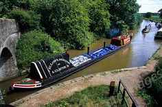 'Cactus' and butty boat in tow,Shropshire Union Canal,High Offley by John / Arc-Images, via Flickr