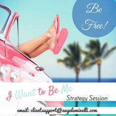 Emotional eater?  Binge eater?  Break free! Lose weight naturally by claiming your FREE I Want to Be Me: 3 Steps to Finding Your Authentic Self Strategy Session! Simply email clientsupport@ang... and put Free Session from Angela in the subject line. Hurry! Only (10) sessions available. Offer expires Friday, June 12th, 2015 at 5pm EST!