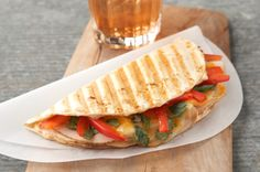 Southwest Chicken Panini Recipe - Kraft Recipes